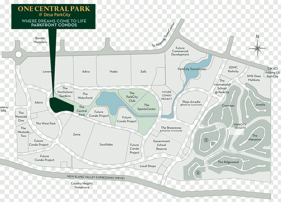 One Central Park location